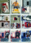 2003-04 ITG BE A PLAYER MEMORABILIA - GAME-USED AUTO JERSEY 10 - Rick Nash