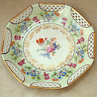 Vintage I.B.J Germany US Zone Gorgeous Floral Plate Spring Tulips Floral Bouquet