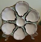Antique Oyster Plate -  C. Tielsch 6 Wells - German