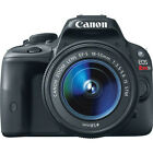 Canon EOS Rebel SL1 DSLR Camera with EF S 18 55mm f 35 56 IS STM Lens NEW
