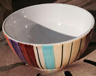 PFALTZGRAFF Equator Soup or Cereal Bowl Multicolored 3823394 -- w/Hairline crack