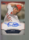 2013 Topps Mini Baseball Online Exclusive Autograph Auto Jered Weaver Angels