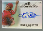 2013 Topps Tribute Inkable Accolades Autograph Auto Jered Weaver 22 99 Angels