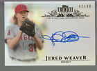 2013 Topps Tribute Inkable Accolades Autograph Auto Jered Weaver 42 99 Angels
