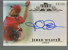 2013 Topps Tribute Inkable Accolades Autograph Auto Jered Weaver 59 99 Angels