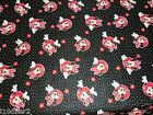 POLKA DOTS DISNEY FREE SHIP   BTY NEW