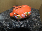 Vintage Hungarian Ceramic Pig folk  pattern made in Hungary 4 1/2 x 3 1/2 Approx