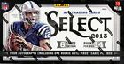 2013 Panini Select Football Hobby 3 Box Lot