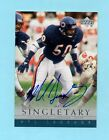Chicago Bears Mike Singletary 2000 Upper Deck NFL Legends Autograph Auto
