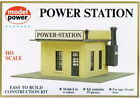 Model Power 443 HO Scale Power Station Building Kit