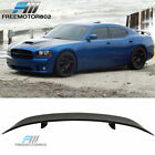 For 06 07 08 09 10 Dodge Charger SRT8 Rear Trunk Spoiler Wing ABS Matte Black