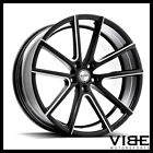 20 SPORZA V5 BLACK CONCAVE WHEELS RIMS FITS NISSAN 370Z