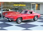 Chevrolet Corvette 1965 chevrolet corvette coupe matching numbers 327 365 hp red red 4 speed