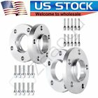 2 15mm  2 20mm Hub Centric Wheel Spacers 5x120 W 12x15 Cone Seat For BMW