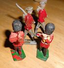 LOT OF 4 BRITISH TOY SOLDIERS 2 LEAD, 2 PLASTIC