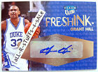 2012-13 Fleer Retro GRANT HILL Ultra FRESH INK Autograph 1:359 Duke Devils #GH