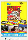 1991 Topps Desert Storm Trading Card Factory Box (36 Packs) (Victory Series)