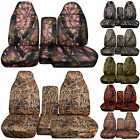 Cc 91-97 Ford Ranger Camo Car Seat Covers 60-40 Or No Console Coverchoose
