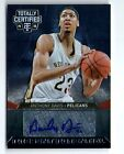 ANTHONY DAVIS 13-14 PANINI TOTALLY CERTIFIED AUTO AUTOGRAPH CARD #66 98!