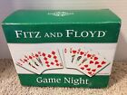 Fitz & Floyd GAME NIGHT Snack Plates - NIB - Diamonds/Hearts