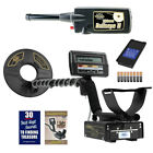 """Whites M6 Metal Detector with 9.5"""" Eclipse Search Coil & Bullseye II Pinpointer"""