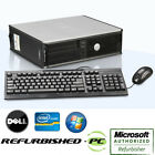 CLEARANCE Fast Dell Optiplex Desktop PC Windows 7 Pro Computer + Keyboard+Mouse