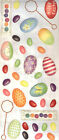 EASTER EGGS JUMBO STICKER SHEET Tumblebeasts Scrapbooking HOLIDAY Decorating