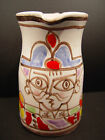Vintage Desimone Italy Hand Painted Pitcher Picasso