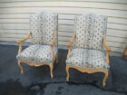 53375  Pair French Country Fauteuil  Armchair s Chair s