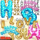 16 42 LETTER NUMBER WORD Letters Foil Balloon Birthday Wedding Party Supply lot