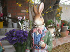 FITZ AND FLOYD OLD WORLD LG MALE STANDING RABBIT NIB