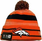 100% AUTHENTIC NWT Officially Licensed 2016 Denver Broncos Cuff Knit Pom Beanie