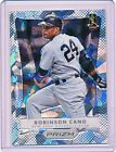 ROBINSON CANO 2012 PANINI PRIZM CRACKED ICE PARALLEL (NATIONAL EXCLUSIVE) PR 25