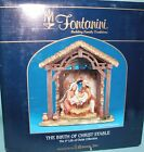 Fontanini Nativity 50613 Stable only resin Birth of Christ 5 in series NIB