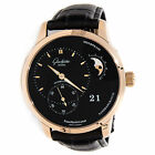 Glashutte Original PanoMaticLunar 1-90-02-49-35-30 Auto Rose Gold Strap Watch
