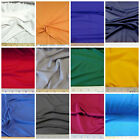 Discount Fabric Choose Your Color Polyester Lycra Spandex 4 way stretch LY