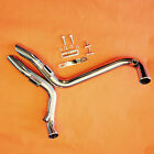 HARLEY STAINLESS 1 3 4 LAF LAF Drag Pipes Exhaust Harley Softail