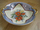 Vintage Noritake Small Serving Bowl Hand Painted w/Handles