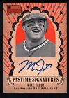 MIKE TROUT 2013 PANINI AMERICA'S PASTIME ON CARD AUTOGRAPH ANGELS AUTO SP #68 75