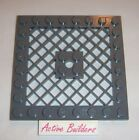 Lego Plate 8 x 8 Grille 10210 Dark Stone Gray