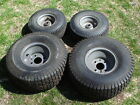 SEARS CRAFTSMAN REVOLUTION FRONT AND REAR TIRE SET 4 PC 15.5.00-6 20x8.00-8