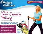 Weight Watchers Time Crunch Training Kit New DVD