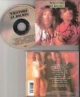 Brand New WHITFORD / ST.HOLMES CD (AEROSMITH NUGENT) Signed Autographed by BOTH!