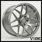 20 MRR FS01 GUNMETAL FORGED CONCAVE WHEELS RIMS FITS LEXUS GS300 GS400 GS430