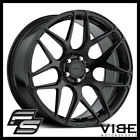 20 MRR FS01 BLACK FLOW FORGED CONCAVE WHEELS RIMS FITS NISSAN 350Z