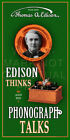 36 X 18 Edison Phonograph Trade Card Canvas Banner