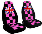 Cc To Fit Mini Cooper 2002 To Present Checkered Design And With Union Jack