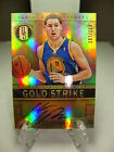 2012 13 Panini Gold Standard Gold Strike KLAY THOMPSON Auto RC 197 199 Warriors