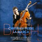 La Marca,Christian-Pierre - Bach 6 Suites Pour Violoncelle (CD New)