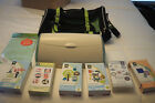 CriCut Create Machine with 6 different cartridges travel bag and cutting mat